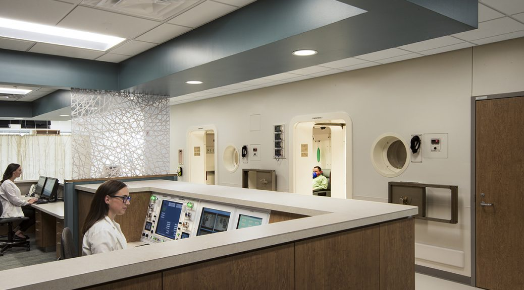 Marshfield Clinic, Hyperbaric Chamber